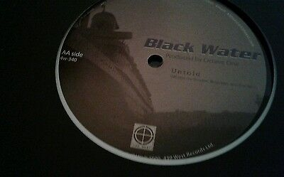 "OCTAVE ONE - Black Water (remastered) - Vinyl (12"")"