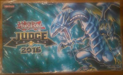 Yu-Gi-Oh Official 2016 judges Playmat-Blue Eyes White Dragon