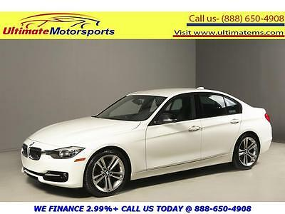 "2014 BMW 3-Series  2014 BMW 328i SPORT PKG LEATHER SPORT+ MODE ECO MODE 18""ALLOYS  PEARL WHITE"