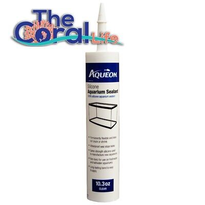 Aqueon Clear 10.3Oz Silicone Aquarium Sealant - Authorized Usa Aqueon Dealer
