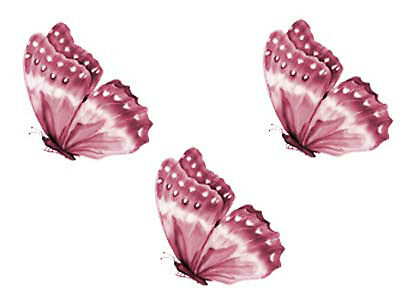 AMaZinG PinK BuTTerFLY ShaBby WaTerSLiDe DeCALs ~KnoBs~HanGeRs~