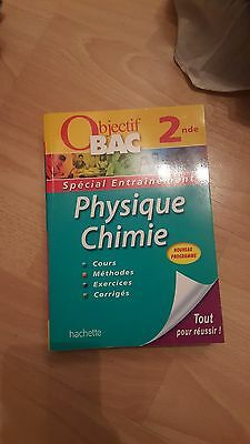 Livre Objectif Bac 2nde Physique Chimie