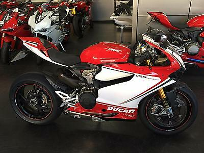 Ducati 1199S Tricolore 12 Reg Sports motorcycle