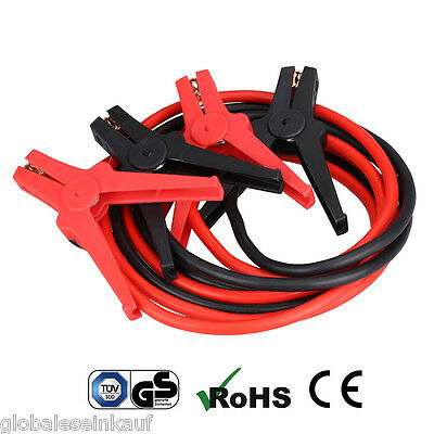 3M 350AMP Heavy Duty Booster Cable Jump Leads Emergency Car Power Starter Clamp