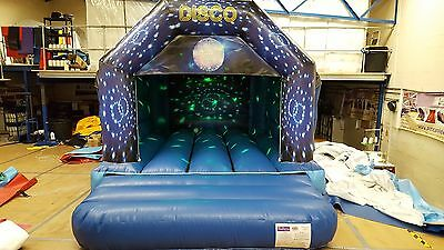 Brand New Disco Bouncy Castle With Speaker And Light
