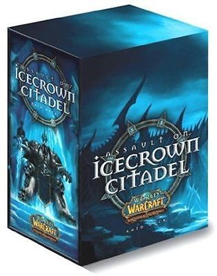 WoW World of Warcraft TCG - Assault on Icecrown Citadel Raid Deck - Brand New