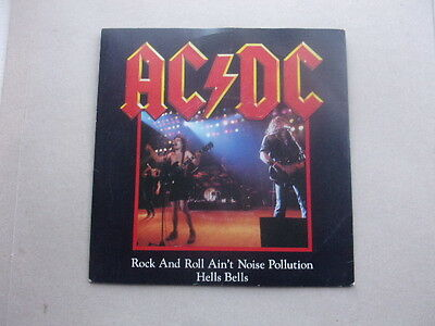 """AC/DC - Rock and roll ain't noise pollution - 7"""" single EX Con"""