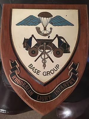 EXTREMELY RARE RHODESIAN LIGHT INFANTRY- BASE GROUP 1970's AFRICAN BUSH WAR