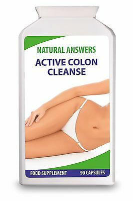 Active Colon Cleanse Tablets by Natural Answers, UK Brand, 30 days Natural Diet