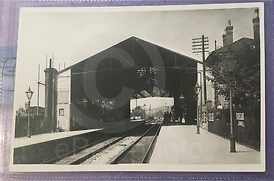 Canterbury East Railway Station - Real Photo. Old Rare Item - See Listing
