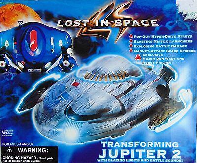 Transforming Jupiter 2 ~ Lost in Space Lights and Battle Sounds 1997 - New