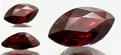 1 Ct. Phenomenal Marquise Cut Top Blood Red Ruby