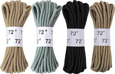 "Nylon Military 72"" Long Boot Shoe Laces - 1 Pair"