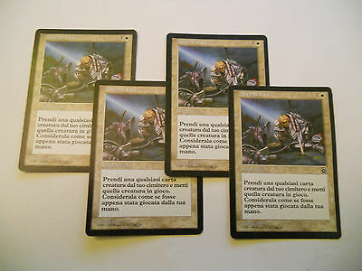 4x MTG Breath of Life-Alito di Vita Magic EDH PORTAL 2 ITA Italiano x4