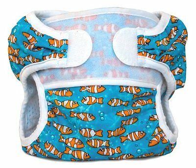 Bummis Swimmi Cloth Diapers, Clown Fish, Medium 15-22 lbs