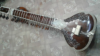 Sitar,amazing Vintage 40To45 Years Old,ravi Shankar For Professional Play,w.box