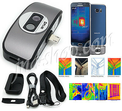 Flir One for Android Thermal Imager Camera Attachment Imaging New 2ndGen 160x120