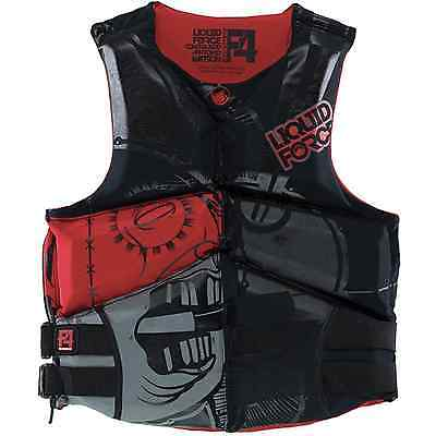 NEW Liquid Force CGA Watson PFD Mens Red