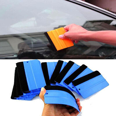 Vinyl Soft Felt Film Paper Wrapping Mobile Scraper Cleaning Squeegee Tool Car