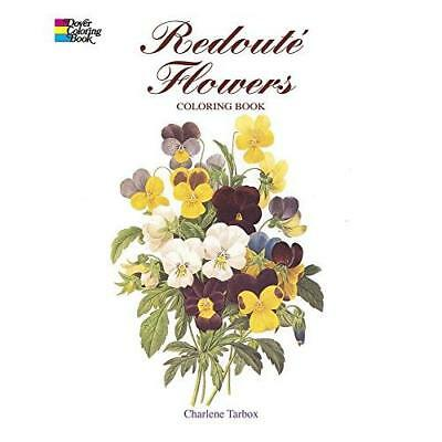 FREE 2 DAY SHIPPING: Redouté Flowers Coloring Book (Dover Nature Coloring Book)