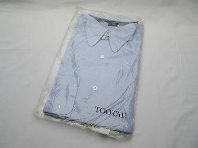 Vintage retro Tootal mens light lilac shirt in pack new old stock 16.5  42cm .