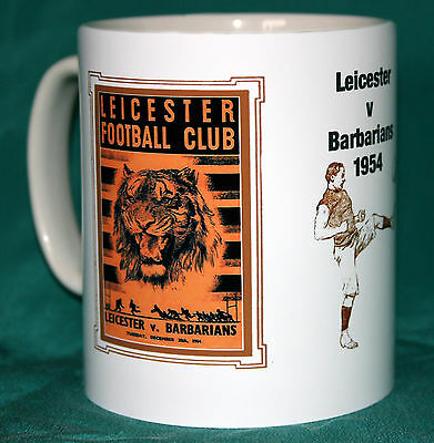 Leicester 1954.rugby..retro Design Rugby Mug.great Gift.new.bnib