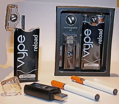 Vype Reload Rechargable Starter Kit 2 x Cartridges Classic Flavour (ECOpure)