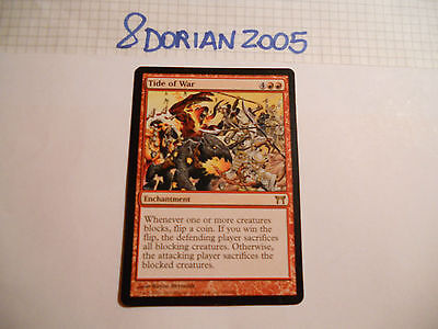 1x MTG Tide of War-Sorti di Guerra Magic EDH BOK ING Inglese Modern x1