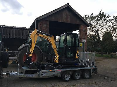 Mini Digger Excavator For Hire Staffordshire, Cheshire