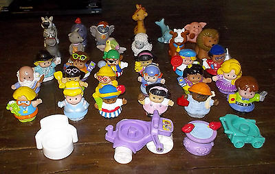 34 FISHER PRICE Little People and Animals plus extras