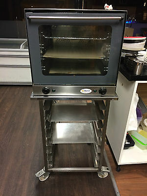 unox convection oven 4 tray with stand bakery coffee shop