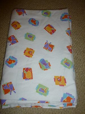 Mothercare 100% cotton Cot bed flat sheet / blanket