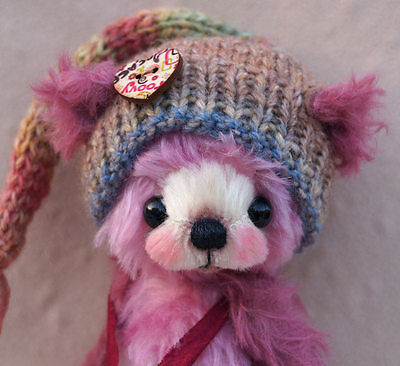 "A.S.Bears  "" Ruby Sue ""  OOAK 7.4 inches Small Artist Bear"