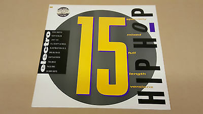 STREET SOUNDS HIP HOP ELECTRO 15 - Cleaned & Tested Vinyl LP - Multiple photos