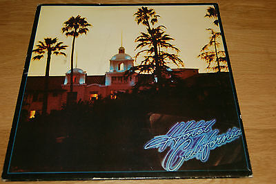 The Eagles - Hotel California 1st press with Insert EX