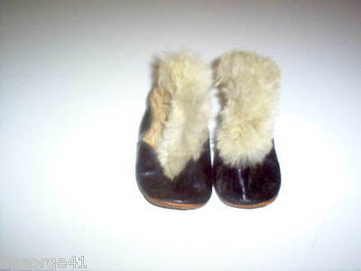 Vintage Baby Boy Winter Boots Soft Sole