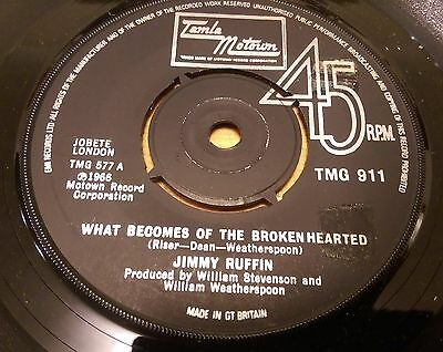 Jimmy Ruffin - What Becomes Of The Brokenhearted - Tamla Motown
