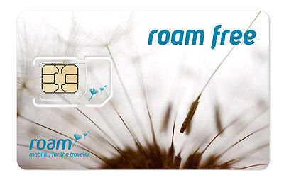 ROAM MOBILITY 2-IN-1 SIM CARD (STANDARD / MICRO /) -- US & Mexico Roaming!