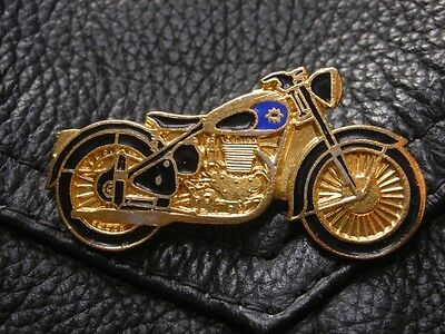 Bsa Motorcycle Metal Enamel Motorbike British Bike Pin Badge