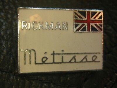Rickman Metisse Motorcycle Enamel Motorbike British Bike Jacket Pin Badge