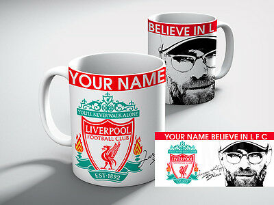 Personalised LIVERPOOL Football Club I Believe in Liverpool FC  Mug Gift