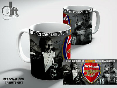Personalised ARSENAL Football Club LEGENDS ARE FOREVER FC  Mug Gift