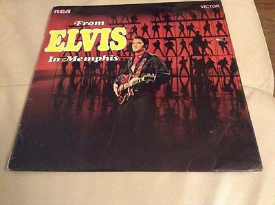From Elvis In Memphis LP Rca RD 8029