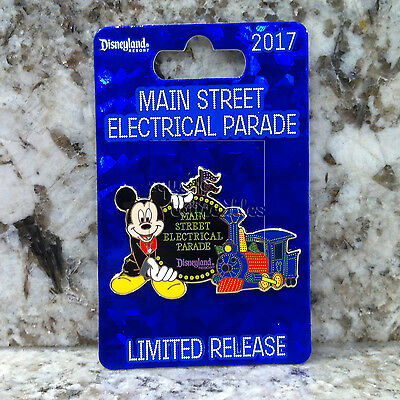 Disneyland Exclusive Main Street Electrical Parade Pin with Mickey & Train