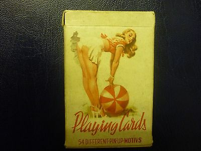 Vintage Glamour Playing Cards 1950S 60S Romikartya Hungary.