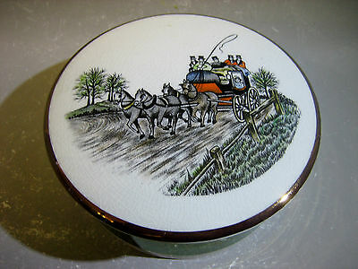Gray's pottery made in stoke-on-trent England trinket box