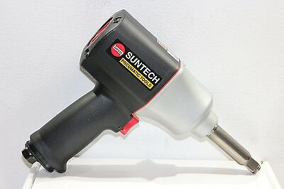 "Suntech 1/2"" Pneumatic Air Super Impact Wrench Twin Hammer 2"" Extended Anvil"