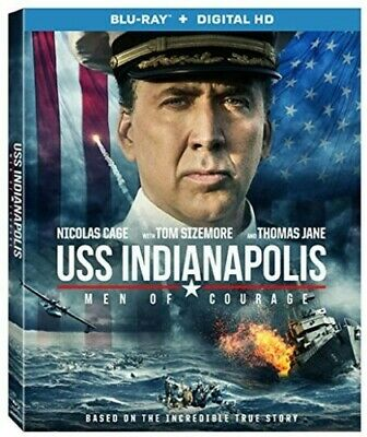 Uss Indianapolis: Men Of Courage (2017, Blu-ray NUEVO) (REGION A)