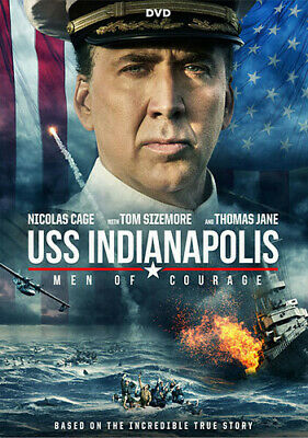Uss Indianapolis: Men Of Courage (2017, DVD NUEVO) (REGION 1)