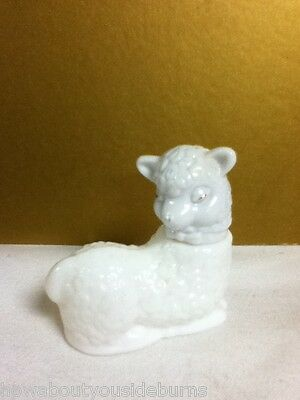Yx9 Vintage Avon Collectible Sheep Decanter Empty Bottle Old